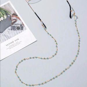 Cute New Glasses Faux Pearl Chain